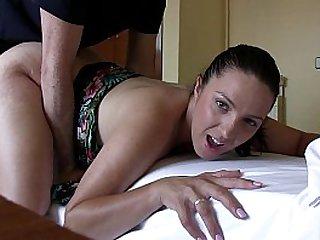 Pamela Sanchez follando en video casero con follamigo