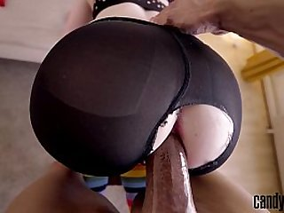 Candy May Big Black mamba Cock double penetration