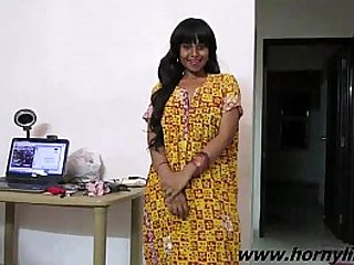 Indian Babe Lily Sexy Interview