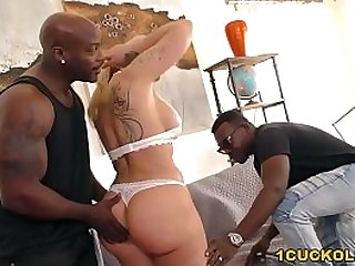 BBC Slut Ryan Conner Does Anal fucked With DP Cuckold Sessions