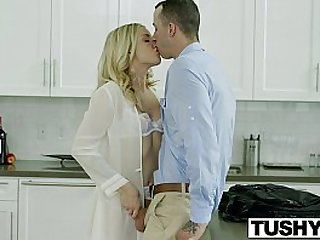 TUSHY Bosses Wife Karla Kush First Anal intercorse With the Office Assistant