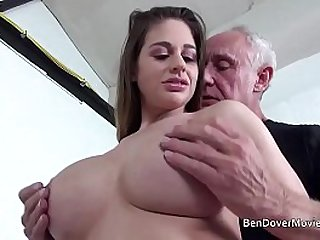 Cathy Heaven fucking myself with Grandad Ben Dover