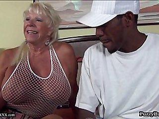 year old Grandma Craves Big Black Cock