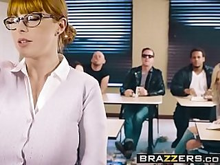 Big Tits at School The Substitute Slut scene starring Penny Pax and Jessy Jones