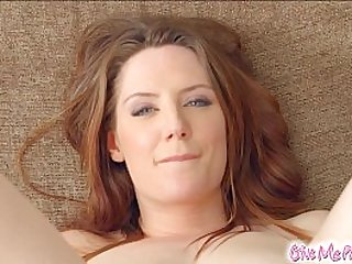Give Me Pink British redhead stretches her ass with toys