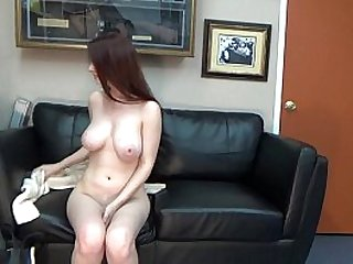 Emma UCSD student does anal casting interview big boob brunette GlassDeskProductions