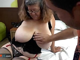 Agedlove granny with tits banged