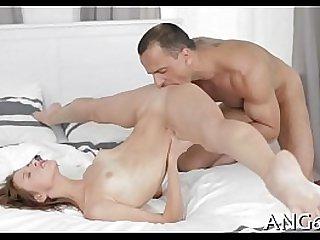 Drilling a lusty moist spot