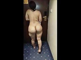 Big Niqab Khaliji Saudi Ass
