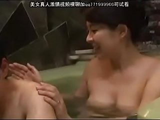 mom and son in bathroom 69.