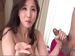 Runa Momose amazing blowjob and deepthroat