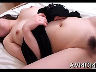 Sexy mother like to fuck herself