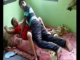 Desi bhabhi fucked by her devar secretly at home