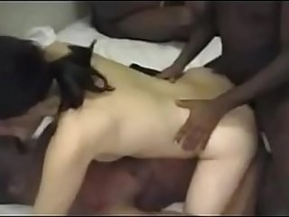 Asian BBC Anal Gang Bang