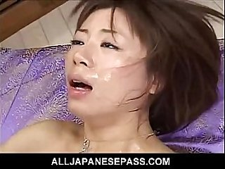 Pretty babe finds her hairy pussy stuffed with meat after a dinner date