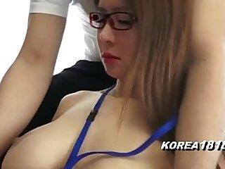 Pretty Korean in Glasses