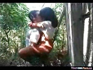 Desi indian girl fucked in jungle