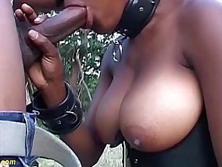 monster boob african fetish milf gets cock fucked