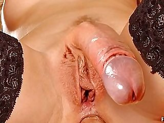 Seductive and lustful futanari dickgirls fuck hot to cum splashing orgasm