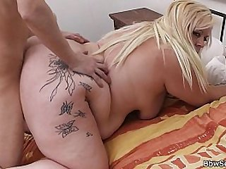 Blonde cheating with a guy