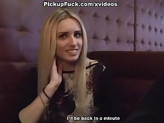 Hot pick up girl initiates the craziest threesome scene