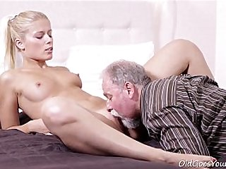 Old Goes Young Elena cant believe how good this old man is at having sex