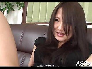 Oriental slit shaving and wild anal