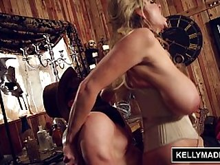 KELLY MADISON Off The Rails Steampunk Sex