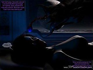 Alien creature invades Gwyneths bedroom!