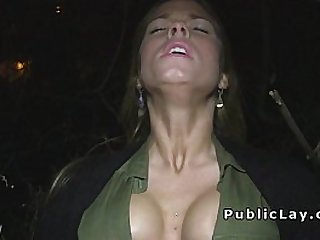Dude pay babes for flashing and fucking